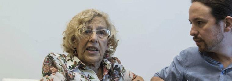 Carmena: 'Por dios' dejar los matices de la izquierda e ir 'al voto útil'