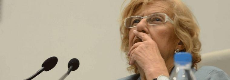 Carmena descarta dar sus votos a Villacís por los pactos con Vox