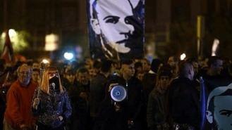 Un manifestación recuerda a Carlos Palomino, asesinado hace 12 años por un ultraderechista