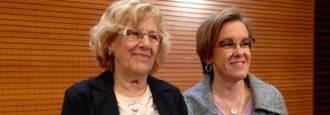 Carmena y Causapié firman el acuerdo de los presupuestos