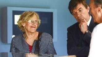 Carmena y el rector de la UCM, proyecto de recogida de residuos por parte de universitarios