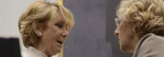 Carmena indica la puerta de salida a Aguirre