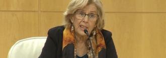Carmena justifica el final de Ahora Madrid: Nació sin 'suficiente aglutinante'