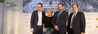 Carmena dispuesta a aprobar Nuevo Norte en campaña electoral
