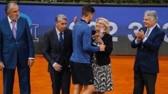 Carmena asegura que el Open 'va a continuar' y anuncia 'una oferta' de la Copa Davies