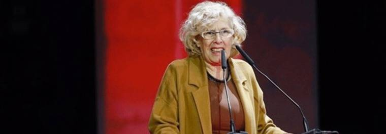 Carmena: Madrid está 'limpia', aunque se 'oiga' lo contrario