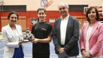 Carolina Marín, primera socia de honor de la Fundación Deporte Alcobendas