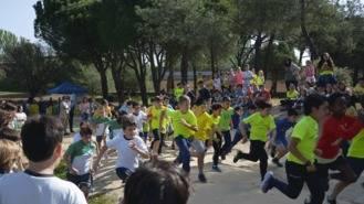 Más de 200 escolares de 4º de Primaria participan en el VI Cross contra la Meningitis