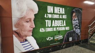 El Gobierno lleva a la Fiscalía el 'ataque racista' de la campaña de Vox contra los Menas