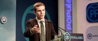 El PP no se pronuncia sobre el futuro de Casado por el caso máster