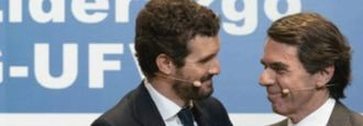 El error de Aznar que repite Casado