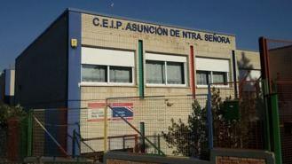 La reforma del colegio público Asunción de Nuestra Señora será a finales de junio