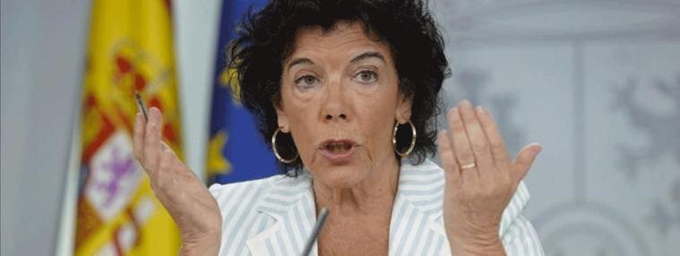 El 'disgusto' de Celáa: En Europa no se entiende que Vox esté en la Mesa de la Asamblea de Madrid