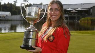 La golfista Celia Barquín, asesinada en un campo de golf de EE.UU