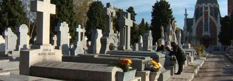 Madrid tiene la tasa más elevada de cementerio, 1.881 € mínimo
