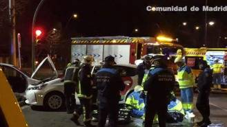 Muere un hombre al chocar su taxi con otro vehículo en el Sector III