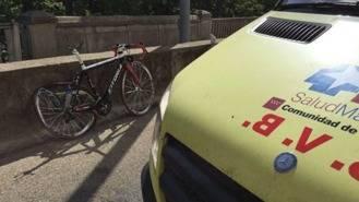 Muere un ciclista atropellado junto al Palacio Real de Aranjuez