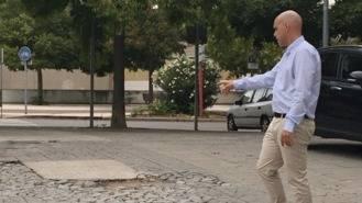 Ciudadanos critica el 'lamentable estado del acceso a los Juzgados'