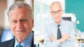 Los doctores Clotet y Fuster analizan los tratamientos para el COVID-19