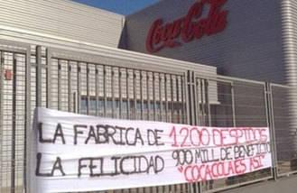 Coca-Cola acata el auto de la AN y pagará a los 278 trabajadores del ERE