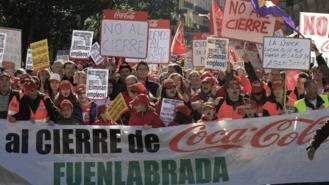 Presentado un recurso de amparo en el TC contra los despidos en Coca-Cola
