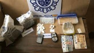 Detenido por almacenar 4 kg de heroína y cocaína en un trastero