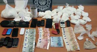 Desarticulado un grupo dedicado a la distribucción de cocaína y heroína