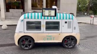 El municipio se convierte en la 1ª ciudad en la que circulará un food truck autónomo