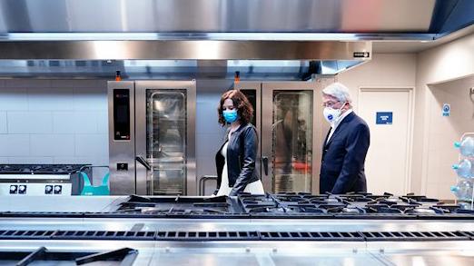 El Atleti cede las cocinas del Wanda para preparar menús a vulnerables