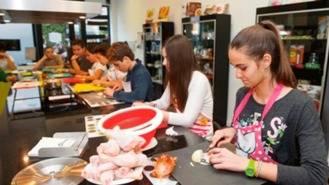 Nuevos talleres de la Escuela de Cocina `Junior Chef´para alumnos de 7 a 13 años