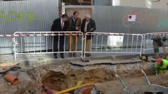 Arrancan los trabajos para mejorar la red de saneamiento en calles Carretas y Peligros