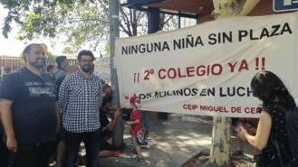 Hernández pide reunirse con Educación ante el abandono de las obras del Miguel de Cervantes