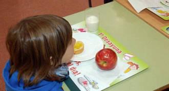 Sólo 14 niños han usado el comedor escolar este verano