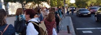 Suspendidas las pruebas Covid a los profesores ante las colas kilométricas