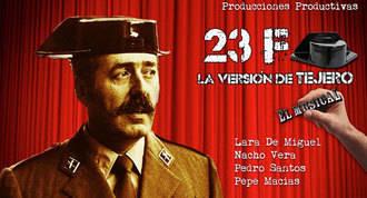 '23F, la versión de Tejero', una comedia low cost en Teatro del Barrio