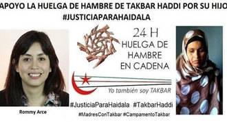 Concejal de Usera en huelga de hambre de 24h por una madre saharaui