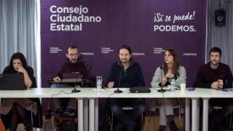 Podemos intenta frenar la crisis del `tsunami´ Errejón en la reunión del Consejo Ciudadano