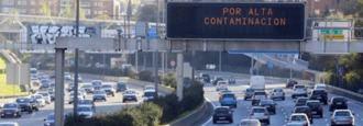 Madrid prohibe este miércoles circular por la M-30 a coches sin distintivo