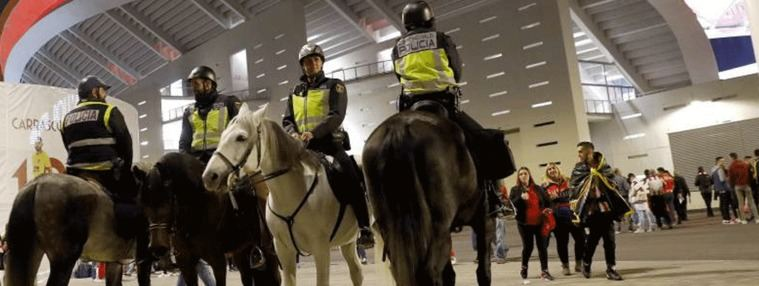 3.200 efectivos y entradas personalizadas para blindar la Copa del Rey