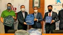 Fundación 'La Caixa´reparte 700 kits escolares a niños vulnerables