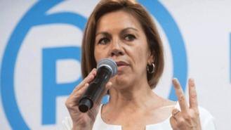 Cospedal sobre las conversaciones de Villarejo y su marido: 'No cambiaron nada' judiclalmente