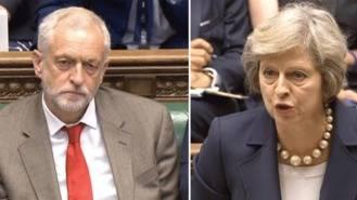 El laborista Corbyn intentará formar un gobierno en minoría, tras perder May la mayoría aboluta