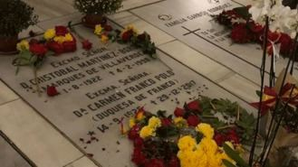 El PSOE propone reformar una ley para prohibir que Franco repose en lugares abiertos al público