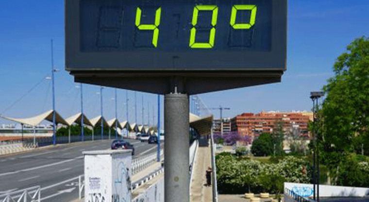 Madrid, CLM, Extremadura y Andalucía llegarán el fin de semana a 40º