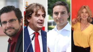 PSOE-M ratifica como precandidatos a Llarandi, Ayala, Lobato y Chaves