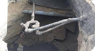 Detectadas fugas de agua y goteras en las cuevas si licencia