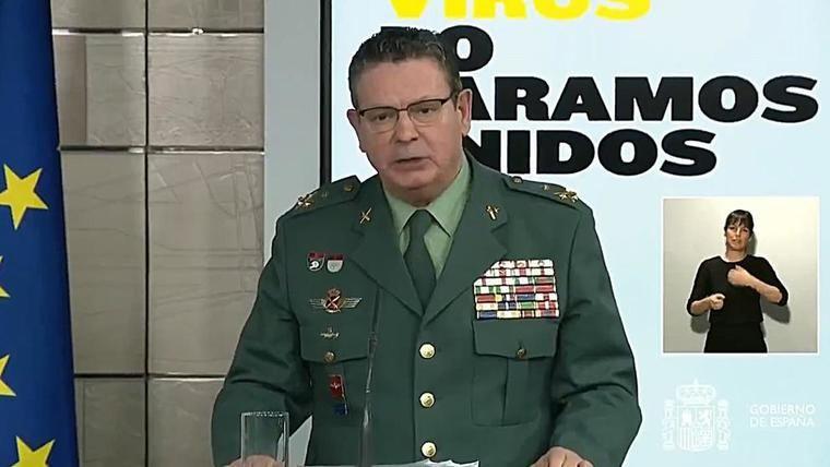 Dimite el DAO de la Guardia Civil tras la destitución de Pérez de los Cobos