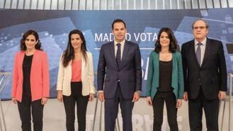 Las encuestas dan como ganador a Gabilondo, que no excluye 'a nadie' para formar gobierno