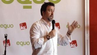 Pedro del Cura, candidato de IU y Equo para las municipales de mayo
