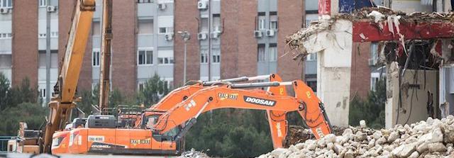 Confinamiento y obras de demolición del Calderón: Es 'insoportable'